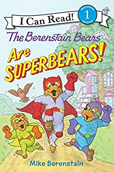 Berenstain Bears Super Bears cover