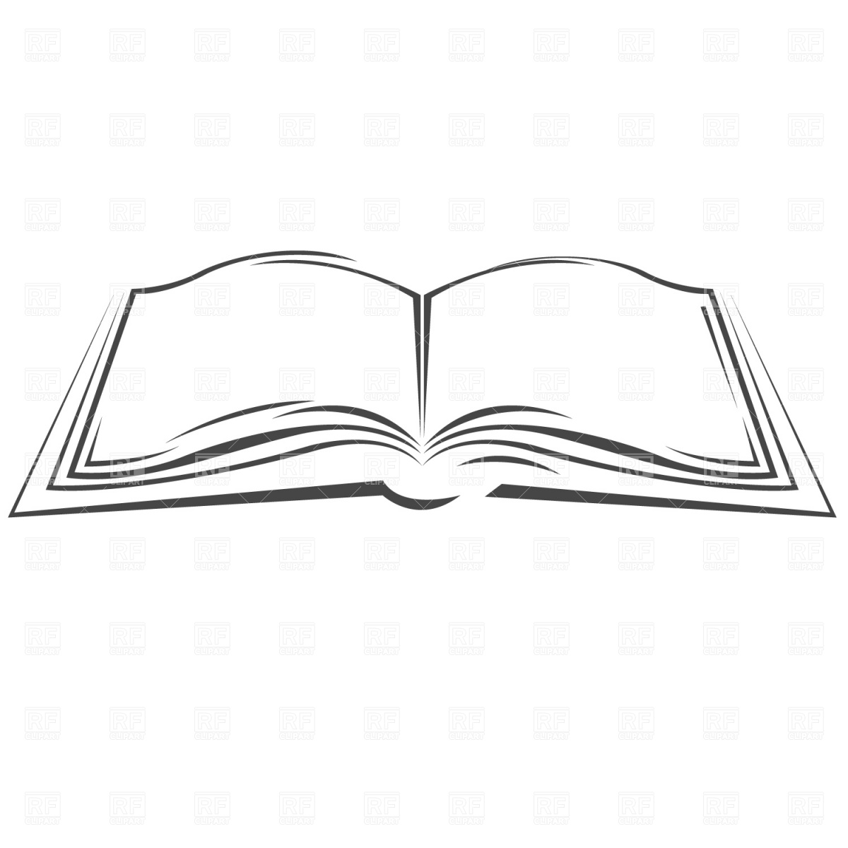 blackandwhiteopenbook